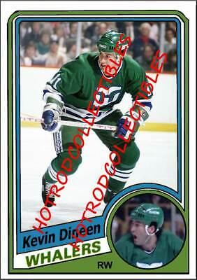 1984-85 OPC TOPPS O Pee Chee Custom Kevin Dineen Hartford Whalers NHL #675