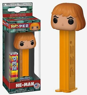 Funko Pop Pez He-Man Masters of the Universe MOTU Limited Edition In Hand