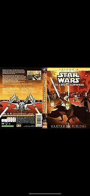 Star Wars - Clone Wars: Volume Two 2 (DVD, 2005) !Disc Only!