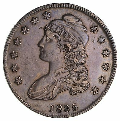 1835 Capped Bust Half Dollar- Circulated *1941