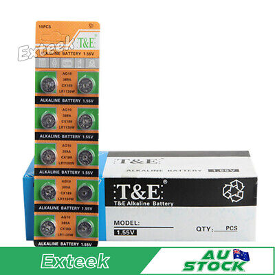 Alkaline Batteries AG10 LR1130 Button Coin Cell Battery
