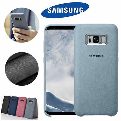 Alcantara Shockproof Suede Leather Case Cover For Samsung Galaxy S8 S9+ Note8