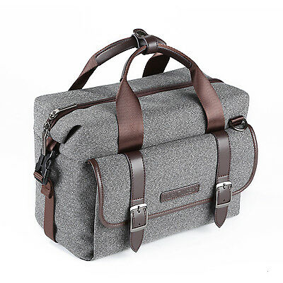K&F Concept DSLR Camera Shoulder Bag Case for Canon Nikon sONY Cameras and Lens