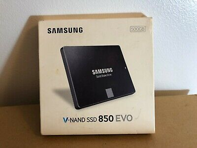 BRAND NEW Samsung 850 EVO 500GB 2.5-Inch SATA III Internal SSD (MZ-75E500B/AM)