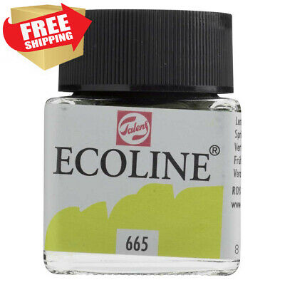 Royal Talens Ecoline Liquid Watercolor, 30ml Bottle, Spring Green (11256650)