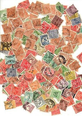 A Big Lot Of Stamps Off Paper From Australia  (  1000 )