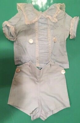 SPECTACULAR Childs Baby outfit VINTAGE Impeccable quality Details in descrip