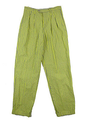 Vintage 1980s Womens Coconut Club Stripe Trousers W30 UK 12