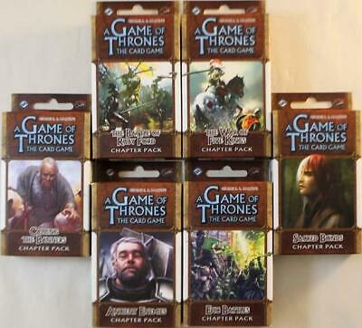 Fantasy Fl Game of Thro Game of Thrones - A Clash of Arms Chapter Pack CCG MINT