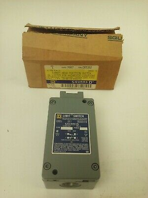 Square D Class 9007 Type Cr53B2 Ser. A 9007-Cr53B2 Explosion Proof Limit Switch