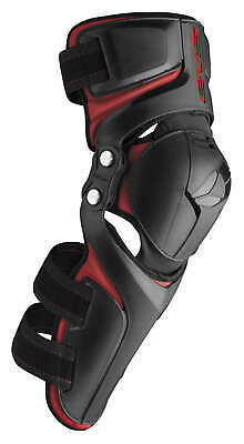 EVS Epic Knee Pad; Adult; Black/Red; Pair