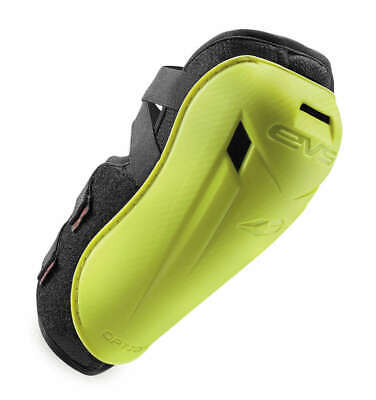 EVS Option Elbow Guards; Adult (over 115 lbs.); Hi-Vis Yellow