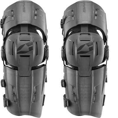 EVS RS9 Knee Brace w/ Full Knee Cup and Hyper-Extension Lockout ; Black