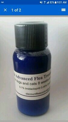 Blue Bottle ADVANCED FLEA CONTROL Treatment, All Sizes- Dogs, Cats 30ml