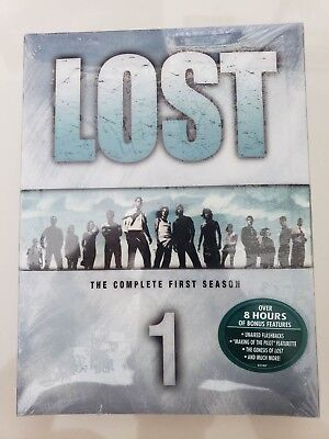 Lost The Complete First Season Dvd 1St Season Set Brand New Factory Sealed