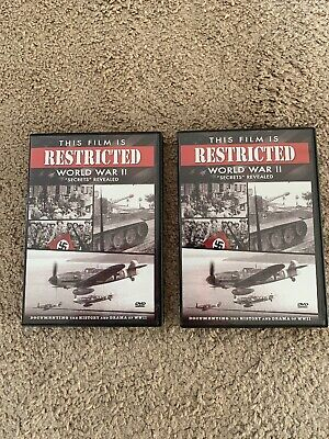"""This Film is Restricted - World War II """"Secrets"""" Revealed  (DVD, 2006)  2 DVD's"""