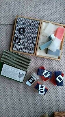 Over 300 35mm Slides and Storage Cases in very good condition