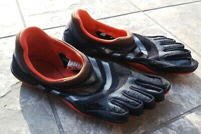 brand new 48df7 98fb5 Mens ADIDAS adiPure Black  Red Trainer Barefoot Minimalist Shoes ...