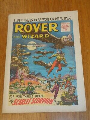 Rover And Wizard 10Th September 1966 Dc Thomson British Weekly Comic*