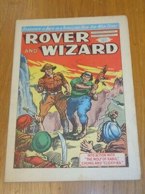 Rover And Wizard 15Th February 1964 Dc Thomson British Weekly Comic*