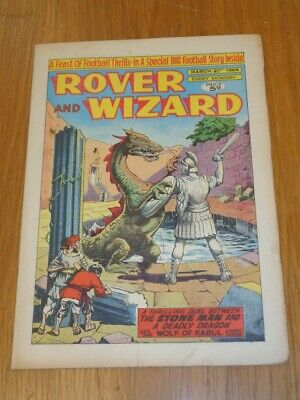 Rover And Wizard 21St March 1964 Dc Thomson British Weekly Comic*