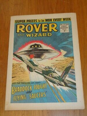 Rover And Wizard 23Rd April 1966 Dc Thomson British Weekly Comic*