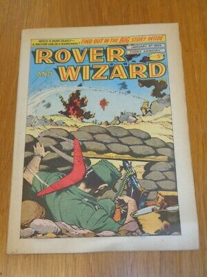 Rover And Wizard 4Th January 1964 Dc Thomson British Weekly Comic*