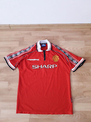 Manchester United 1998-1999 football shirt Size : L