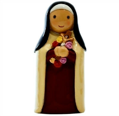 """St. Therese Lisieux Little Flower  """"Little Drops Of Water"""" Statue Figure NEW"""