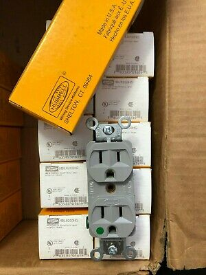 HUBBELL 1G8310SP HOSPITAL GRADE RECEPTACLE 2