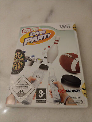 More Game Party (Nintendo Wii, 2008, DVD-Box)