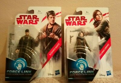 Pack 2 Force link Star Wars;DJ (Canto Bight)+Jyn Erso (Jedha)