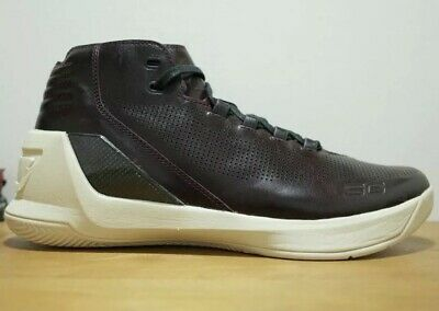 outlet store 88938 7a432 UNDER ARMOUR MEN'S UA Curry 3 Lux Limited Edition Shoes - Sz 12 Oxblood  Leather