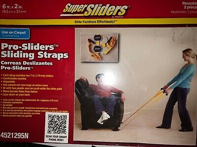 Super Sliders Furnature Moving Straps