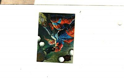 1995 Fleer Ultra X-Men Hunters & Stalkers  Insert Card # 2 OF 9 CABLE EX.