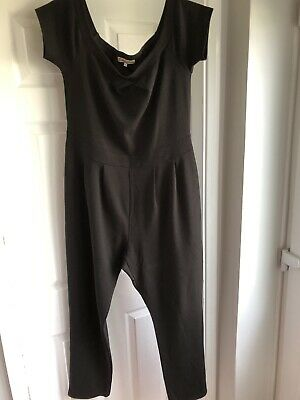 5be392fbbf NEW LOOK WOMENS Cameo Rose Black Jumpsuit Size 18 - £4.20