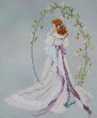 Under The Arbour of Love Cross Stitch Chart Digital Format