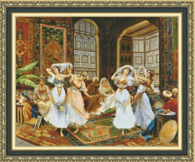 The Dance Cross Stitch Chart Digital Format