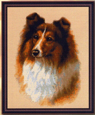 Lassie Dog Cross Stitch Chart Digital Format