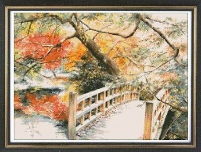 Japan 2 Cross Stitch Chart Digital Format