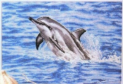 Dolphin Cross Stitch Chart Digital Format