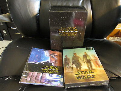 Star Wars Force Awakens Blufans Box + Double Lenticular 3D/2D Blu-Ray Steelbook