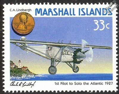 Charles Lindbergh RYAN NYP Special SPIRIT OF ST. LOUIS Aircraft Stamp (1987)