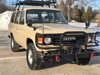 1982 Toyota Land Cruiser HJ60 1982 Toyota Land Cruiser HJ60 Diesel 5 Speed Manual Trans High Roof PTO WINCH