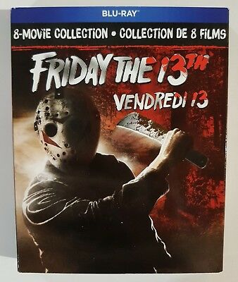 Friday The 13th : The Ultimate Collection [Blu-ray] New + Slipcover