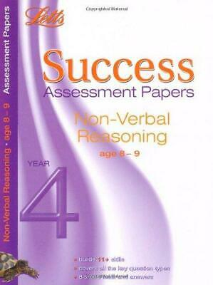 Letts Success Assessment Papers - Non-Verbal Reasoning 8-9 Years, VARIOUS, Good