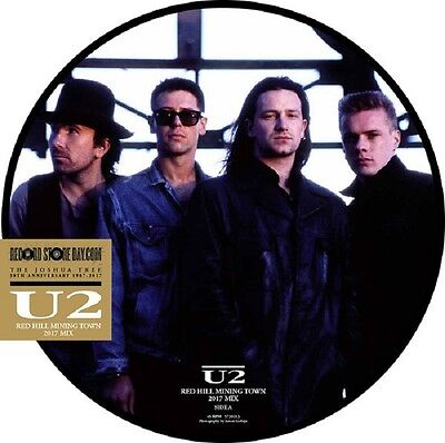 "U2 Red Hill Mining Town - 12"" / Picture Vinyl - RSD 2017"