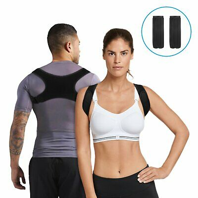 BodyWellness Posture Corrector Adjustable Back Shoulder Support Correction Belt