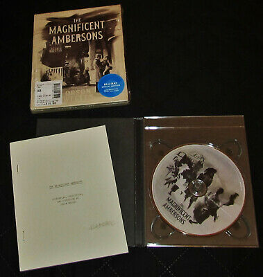 THE MAGNIFICENT AMBERSONS / Directed by ORSON WELLES / CRITERION Blu-ray