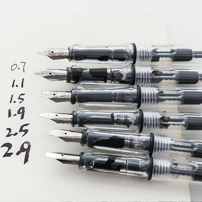 Gothic Arabic Italic Parallel Calligraphy Fountain Pen 1.9mm Nib Kid Stationery
